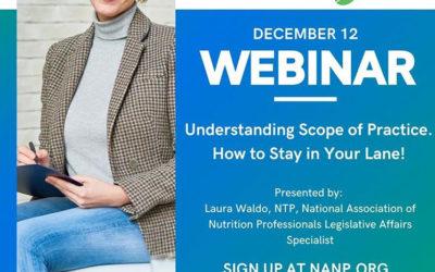 """""""The Scoop"""" Webinar Series"""